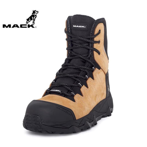 Mack Safety Boot Terrapro Honey Workwear