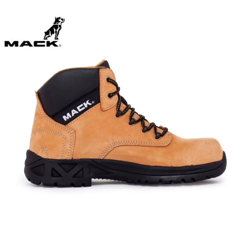 Mack Safety Boot Titan 2 Honey Workwear