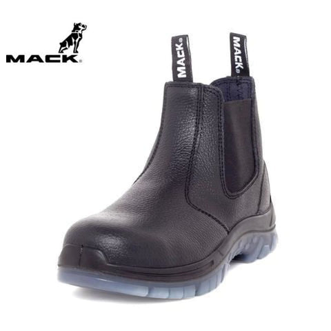 Mack Safety Boot Tradie Black Workwear
