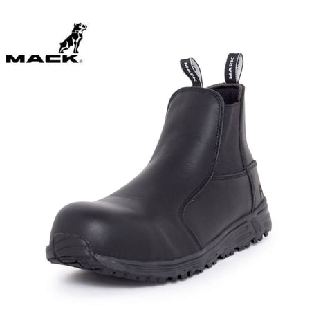 Mack Safety Boot Tuned Black Workwear