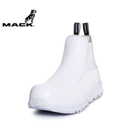 Mack Safety Boot Tuned White Workwear