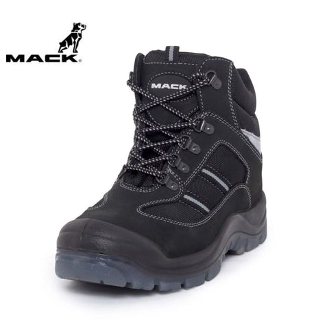 Mack Safety Boot Turbo Black Workwear