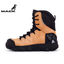 Load image into Gallery viewer, Mack Safety Boot Zip/lace Terrapro Honey Workwear