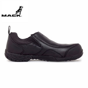 Mack Safety Shoe President Black Workwear