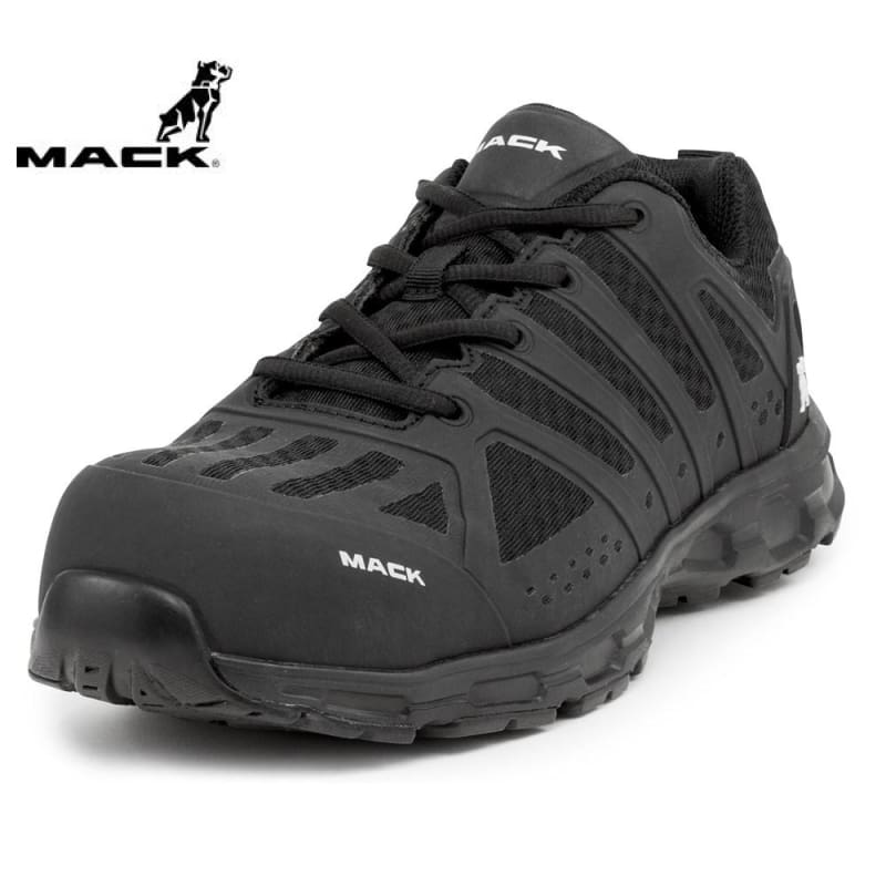Mack Safety Shoe Vision Athletic Black Workwear