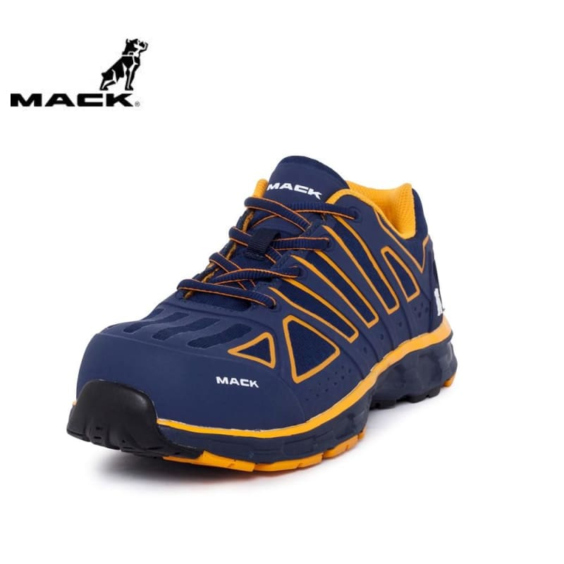 Mack Safety Shoe Vision Athletic Blue/orange Workwear
