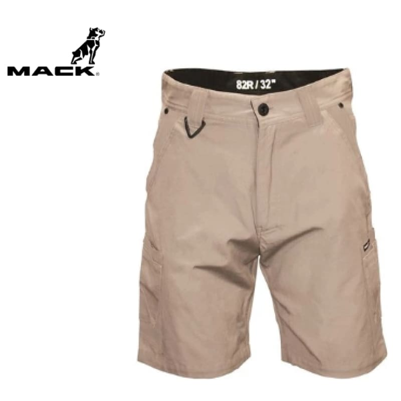 Mack Workwear Canvas Cargo Shorts Sand