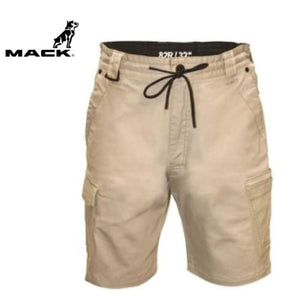 Mack Workwear Stretch Cargo Shorts Sand