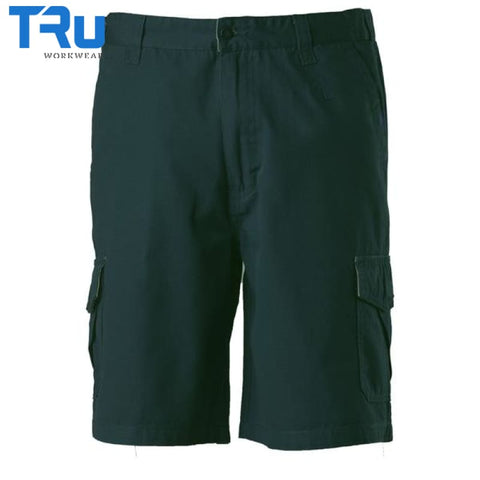 Mid Weight Cotton Canvas Cargo Shorts Workwear