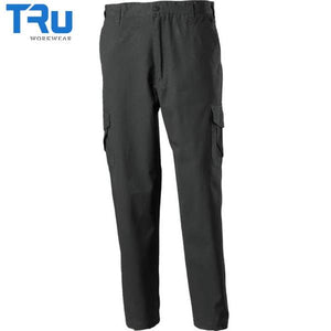 TRu Workwear - Trouser, Cotton Canvas Cargo, Black