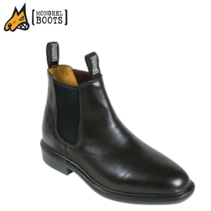 Mongrel N Boot Non-Safety Riding Black Workwear