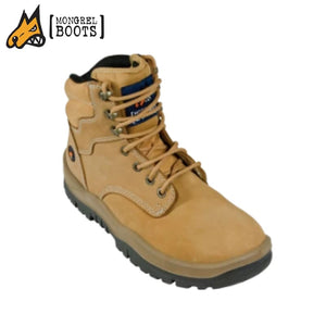 Mongrel P Ankle Boot Lace Up Wheat Workwear