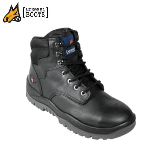 Mongrel P Safety Ankle Boot Lace Up Black Workwear