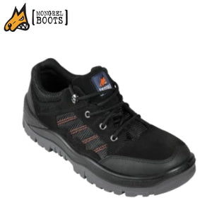 Mongrel T Safety Boot Hiker Suede Black Workwear