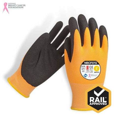 Nbcf Cut 5 Nitrile Foam Glove Aus Std Cert Rail Spec S Safety Wear