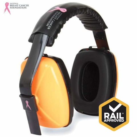Nbcf Headband Earmuff 29Db Rail Spec Safety Wear