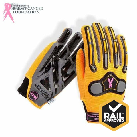 Nbcf Mechanics Glove Multi-Purpose Aus Std Cert Rail Spec S Safety Wear
