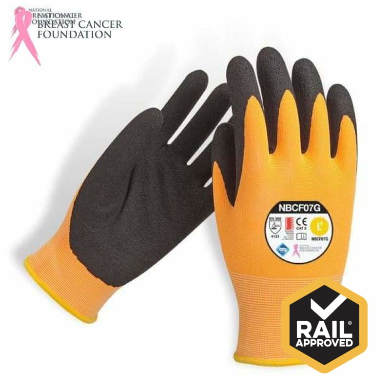 Nbcf Nitrile Synthetic Glove Aust Std Cert Rail Spec S Safety Wear