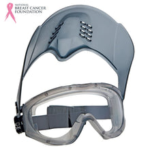 Load image into Gallery viewer, Nbcf Premium Clear Goggle + Lift-Up Visor Safety Wear