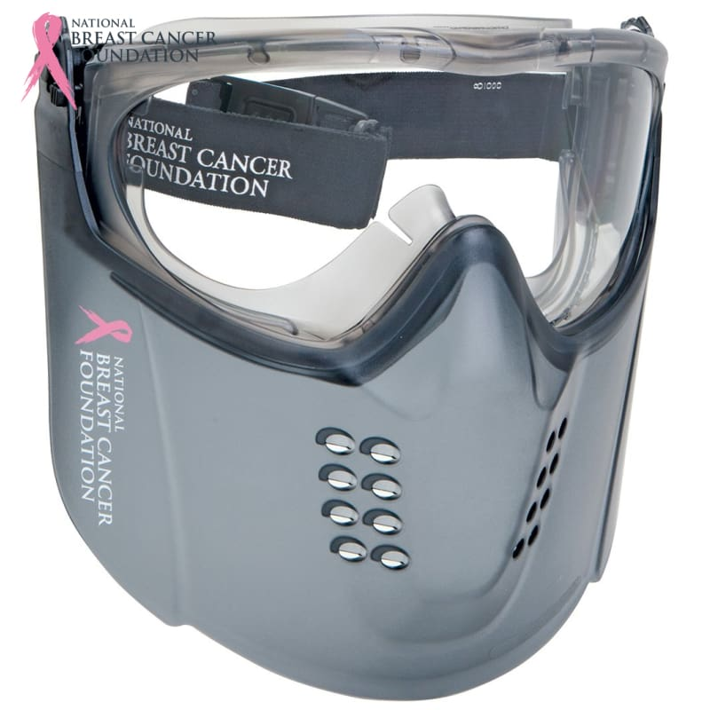 Nbcf Premium Clear Goggle + Lift-Up Visor Safety Wear