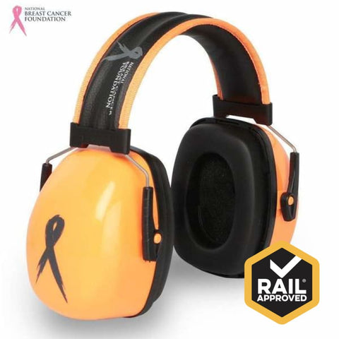 Nbcf Premium Headband Earmuff 32Db Rail Spec Safety Wear