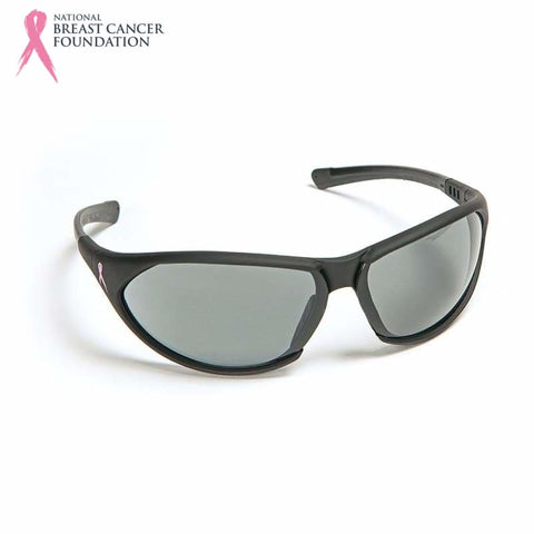 Nbcf Premium Safety Glasses Smoke Lens Black Wear