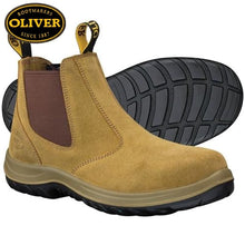 Load image into Gallery viewer, Oliver 34-624 Safety Boot Slip-On Beige Suede Footwear