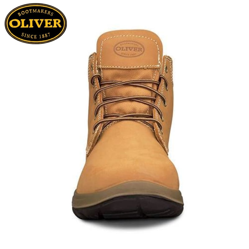 Oliver 34-632 Safety Boot Lace-Up Wheat Footwear