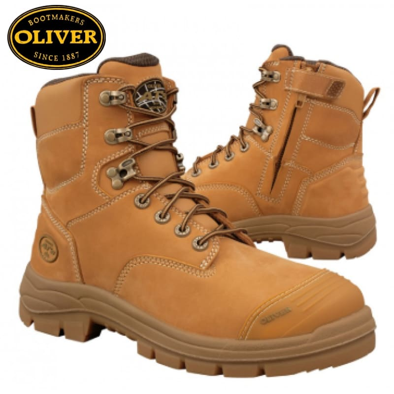 Oliver 55-332Z, Safety Boot, Zip/Lace