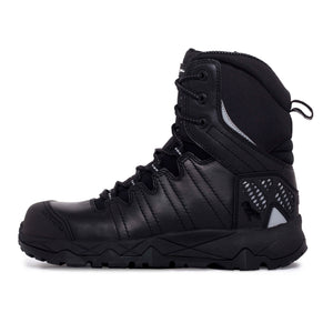 Mack, Safety Boot, Zip/Lace, TerraPro, Black