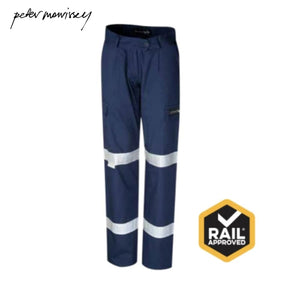 Peter Morrissey- Ladies Premium Light Ripstop Cargo 3M Tape Rail Spec Trousers