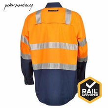 Load image into Gallery viewer, Peter Morrissey-Ladies Premium Ripstop Shirt 3M Tape Vents Vic Rail Spec Workwear