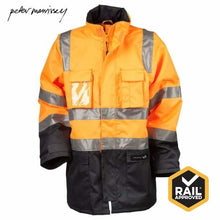 Load image into Gallery viewer, Peter Morrissey- Premium 5 In 1 Ripstop Rain Jacket 3M Tape Rail Spec Workwear