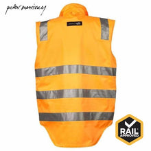 Load image into Gallery viewer, Peter Morrissey- Premium Rain Vest Ripstop 3M Tape Rail Spec Workwear