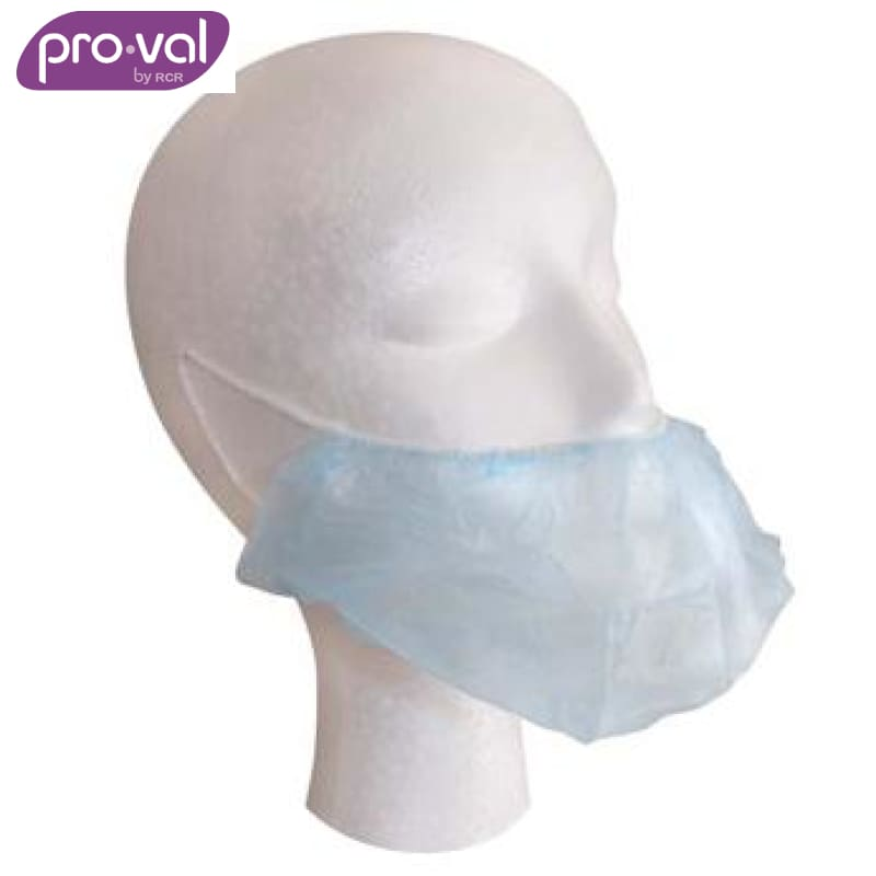 Pro-Val Beard Cover Double Loop Blue (Ctn 100X5) Safety Wear