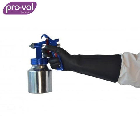 Pro-Val Chemical Glove Nitrile Esd - Electro Static Hd Black Safety Wear