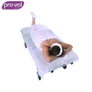 Pro-Val Disposable Bed Sheet Polyprop White (Ctn 20X10) Safety Wear