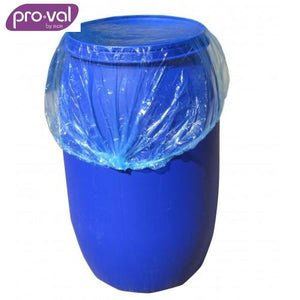 Pro-Val Drum Cover Waterproof Pe Blue (Ctn 100X5) Safety Wear