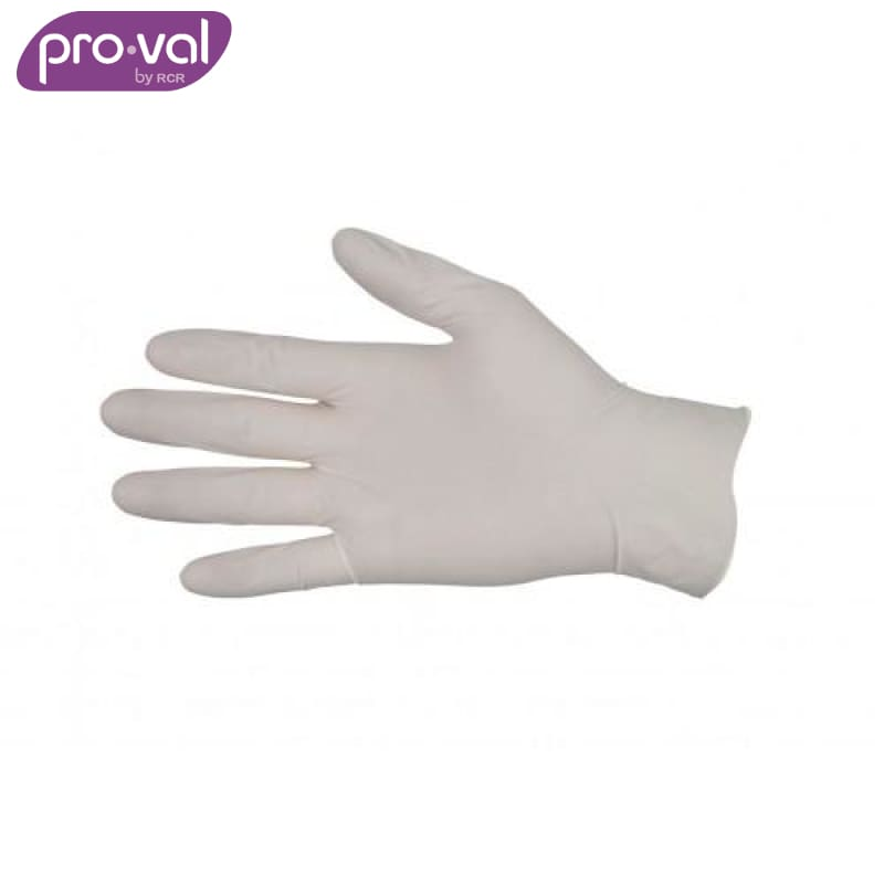 Pro-Val Exam Glove Ecotex Latex Powder Free (Ctn 100X10) Safety Wear