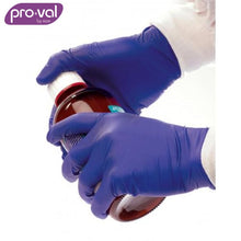 Load image into Gallery viewer, Pro-Val Exam Glove Nitesafe Nitrile Powder Free Blue (Ctn 100 X 10) Safety Wear