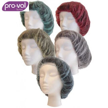 Load image into Gallery viewer, Pro-Val Hair Cap Round Bouffant Polyprop 21 White (Ctn 100X10) Safety Wear