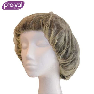 Pro-Val Hair Cap Round Bouffant Polyprop 21 Yellow (Ctn 100X10) Safety Wear