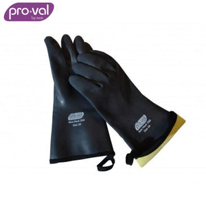 Pro-Val Heat Resistant Glove Neoprene 350 Ð Kevlar Liner 33Cm Level 3 Black Safety Wear