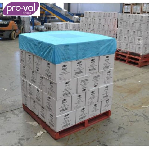 Pro-Val Pallet Cover Breathable 1.4M Blue X 50 Safety Wear