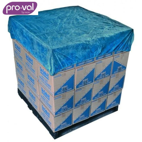 Pro-Val Pallet Cover Waterproof Pe 1.4M White X 50 Safety Wear