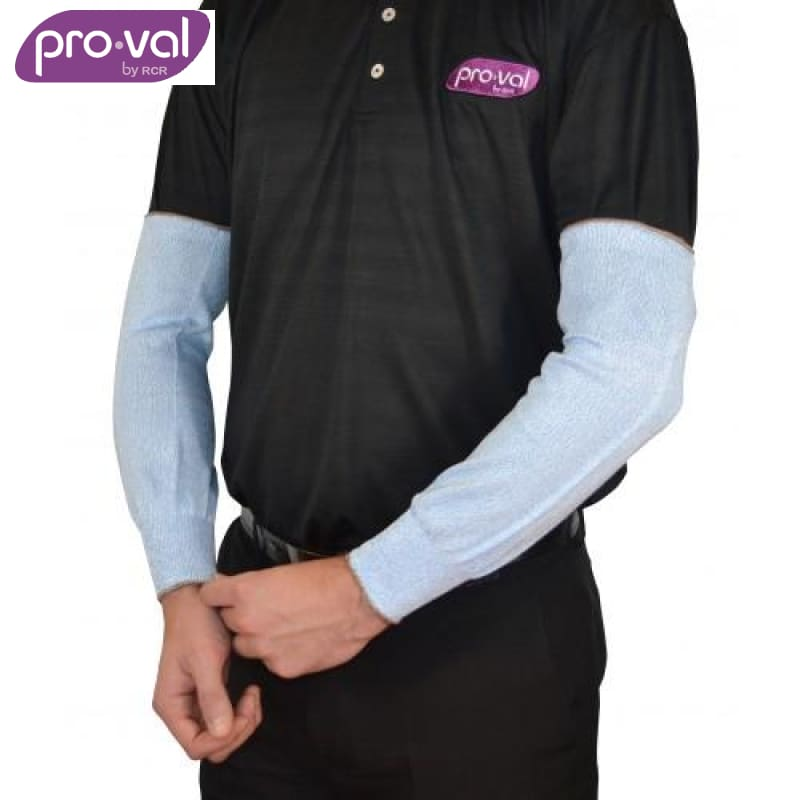Pro-Val Sleeve Protector 50Cm Cut 5 Blue (Ctn 10 X 20) Safety Wear