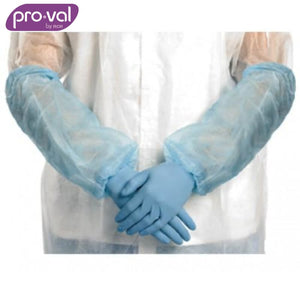 Pro-Val Sleeve Protector Lightouch Polyprop 40Cm Blue (Ctn 100X5) Safety Wear