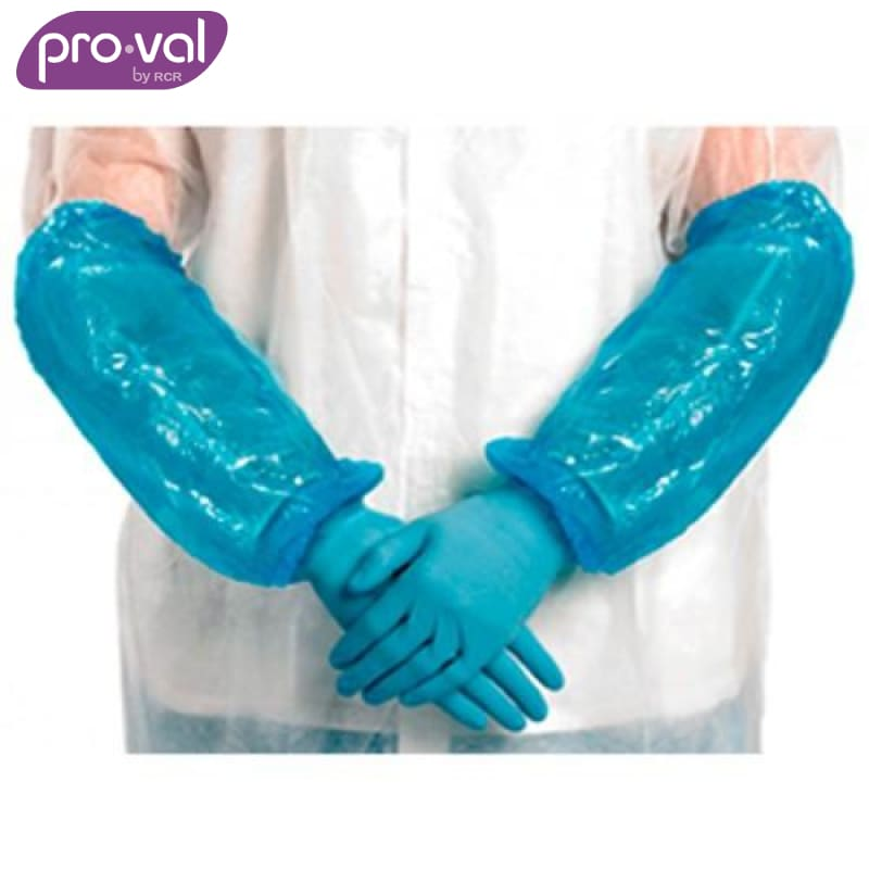 Pro-Val Sleeve Protector Pe Armgard 40Cm Blue (Ctn 100X20) Safety Wear