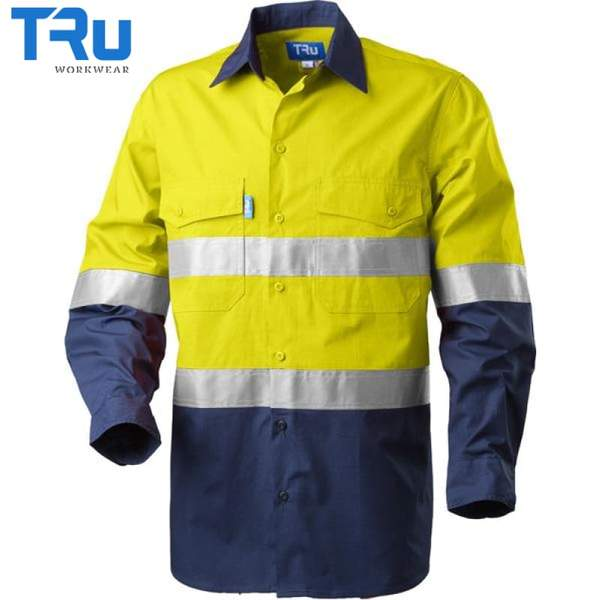 TRu Workwear - Shirt, Cool Ripstop, 3M Tape, Horz Vents, Y/N