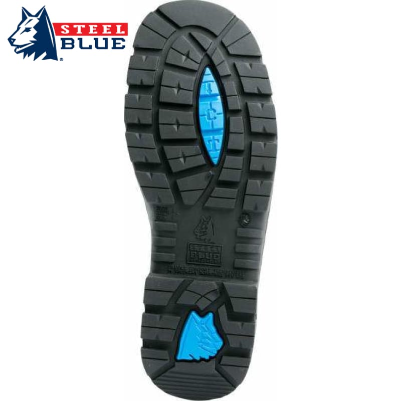 Steel Blue Safety Shoe Eucla Black Workwear